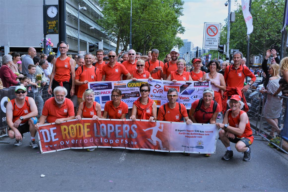 Team 267 Roparun De Rode lopers